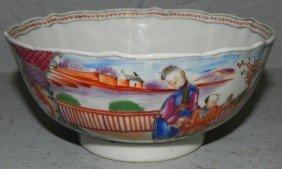 "18th Century Small Export Bowl. 5 1/2"" Diameter."