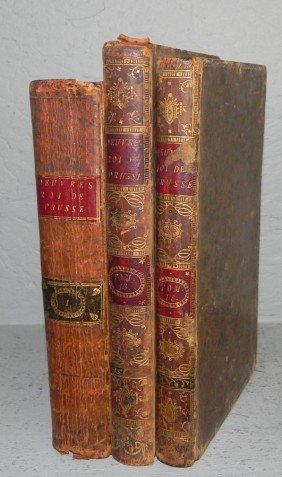(3) Leather Bound Books