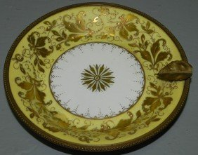 Signed Sevres Small Dish.