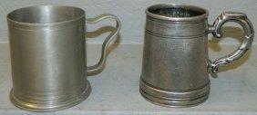 James Bruce 8th Earl Of Elgin China Trade Mugs.