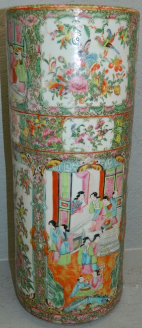 Rose Mandarin Umbrella Stand.