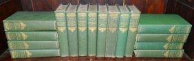 16 Volumes Of Works By Honore De Balzac.