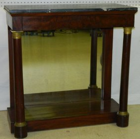 19th C. French Empire Pier Table