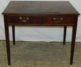 18th C. Mahogany Georgian Writing Desk.