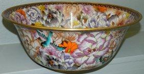 Large Cloisonne Bowl.