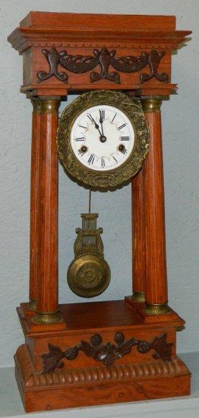 French Openwork Shelf Clock.