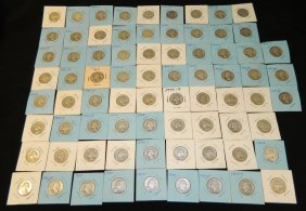 75 Washington Silver Quarters