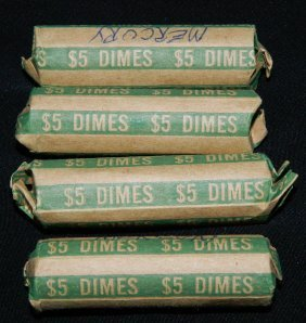 200 Unsearched Mercury Dimes