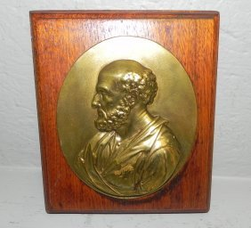 Brass Plaque Of Petrus.