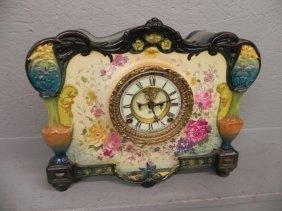 """Ansonia Royal Bonn """"la Roca"""" Case Clock"""