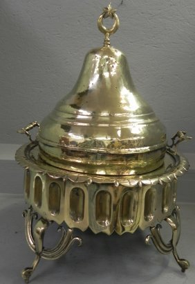 Polished Brass Smoker/ Hibachi.