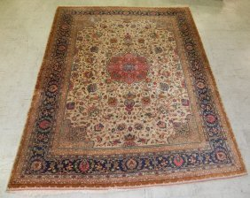 8' X 10' Antique Persian Rug