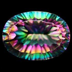 12.79 Ct Azotic Multicolor Mystic African Quartz