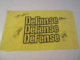 Steel Curtain Signed Towel
