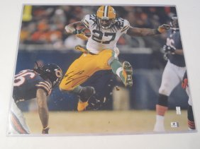 Eddy Lacy Signed Photo