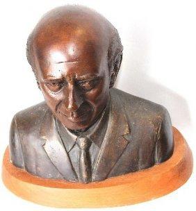 """Bronze Bust - 12"""" Tall"""
