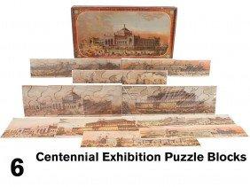 Centennial Exhibition Puzzle Blocks