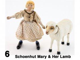 Schoenhut Mary & Her Lamb