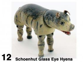 Schoenhut Glass Eye Hyena