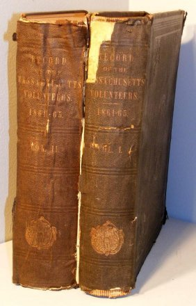 Records Of The The Mass. Volunteers 1868
