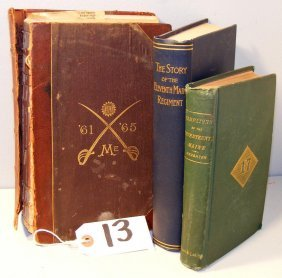 Maine Regimental Books