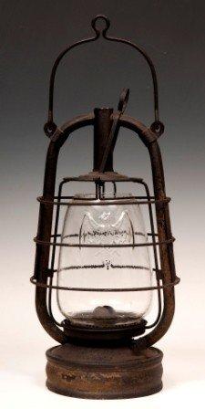 """Oil """"Bat"""" Lantern"""