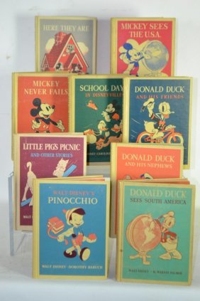 Collection Of Walt Disney Story Books