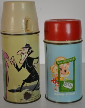 Two Vintage Thermos's
