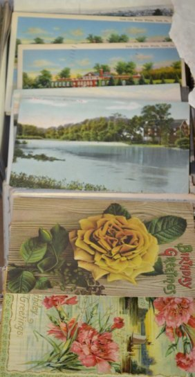Appr. 600 Late19th Early 20thc Post Cards