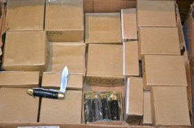 Approx. 29 Dozen Of Assorted Pocket Knives