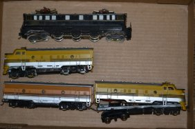 Misc. Diesel Locomotives & Electric Locomotives