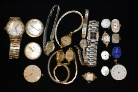 Men's And Ladies Wrist Watches And Movements