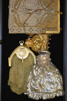 Art Deco & Victorian Chain Mesh Purses