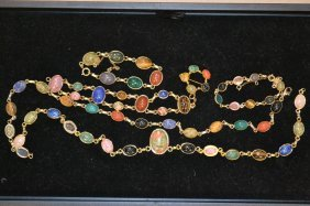 Egyptian Scarab Bracelets And Necklaces