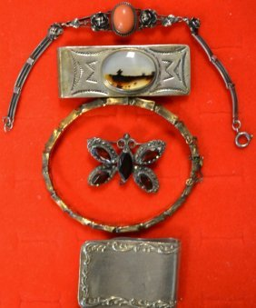 Misc. Lot Of Sterling Silver Lot