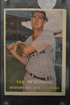 1957 Topps Ted Williams # 1 Baseball Card