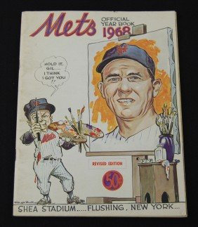 1968 New York Mets Official Year Book