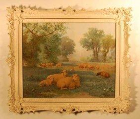Wilson Marlatt (1837-1911) Watercolor