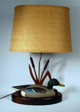L.L. Bean Mallard Decoy Lamp