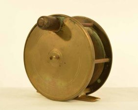 Macleay Inverness Heavy Brass Salmon Reel