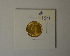1892 British Victoria Gold Coin