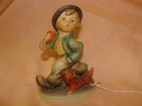 Hummel Figurine: Strolling Along; #5; TM 3. B