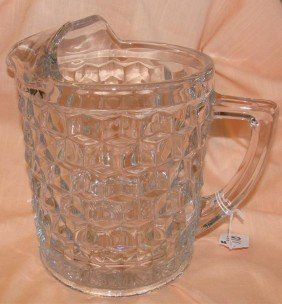 Fostoria American � Gallon Ice Lip Pitcher /