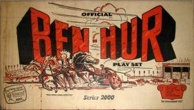 MARX FACTORY SEALED BEN-HUR PLAY SET