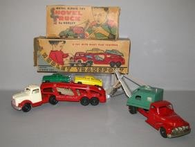 TWO BOXED DIE-CAST HUBLEY TRUCKS