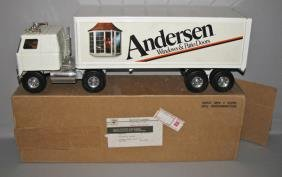 BOXED ANDERSEN WINDOWS TRACTOR TRAILER