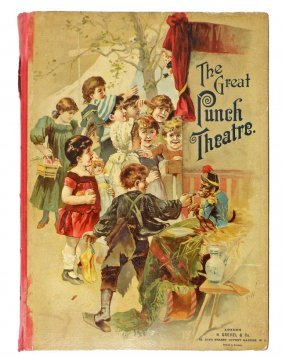 THE GREAT PUNCH THEATRE MECHANICAL BOOK