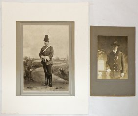 TWO MILITARY PHOTOGRAPHS