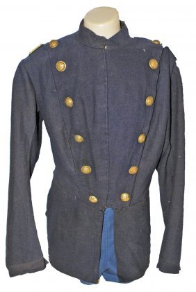 19TH CENTURY U.S. INFANTRY DOUBLE BREASTED COAT