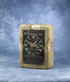 Rare Bull Durham Advertising Clock